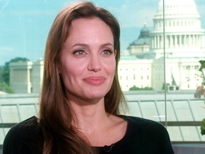 VIDEO: Angelina Jolie interview