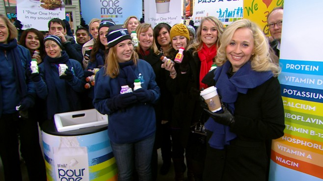 "VIDEO: Milk Street Team to give 1 million samples for the ""Pour One More"" campaign."