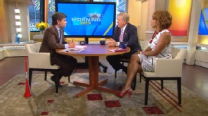 VIDEO: Lou Dobbs and Gayle King rate how the president is dealing with the spill.