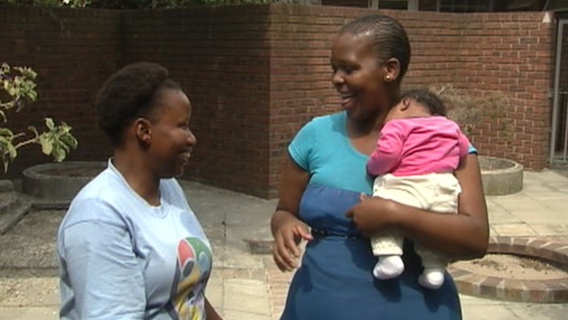 VIDEO: The organization helps prevent mother-to-child transmission of disease.
