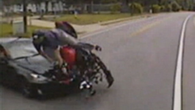 VIDEO: Jack Nicklaus Grandson Survives Motorcycle Crash