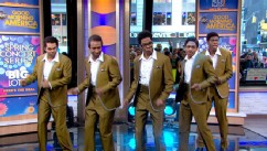 VIDEO: Motown: The Musical Cast Bring Classic Hits to Times Square