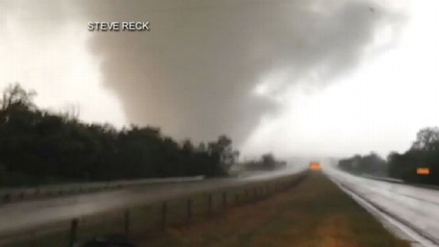 Video: 2 Schools Decimated by Okla. Twister