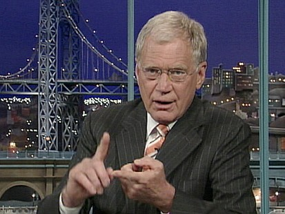 VIDEO: Letterman and Palin: All Made Up?