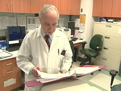 VIDEO: Hospitals and colleges report decreasing numbers of swine flu cases.