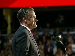 Watch: Mitt Romney Takes the Stage at the Republican National Convention