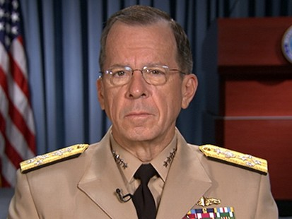 VIDEO:Adm. Mike Mullen discusses whether military intervention is a viable solution.
