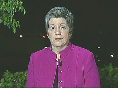 VIDEO: Janet Napolitano on Border Security