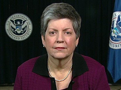 VIDEO: Homeland Security Secretary Janet Napolitano addresses Gulf oil spill response.