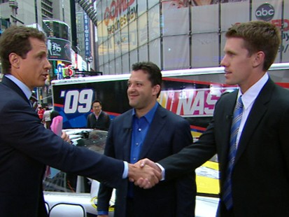 VIDEO: NASCAR Champs in the Hot Seat