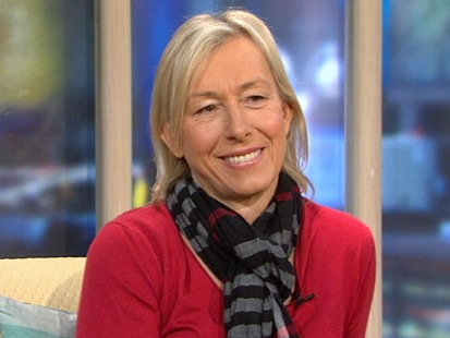 VIDEO: The tennis legend opens up about her battle with breast cancer.