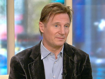 VIDEO: Liam Neeson on GMA.