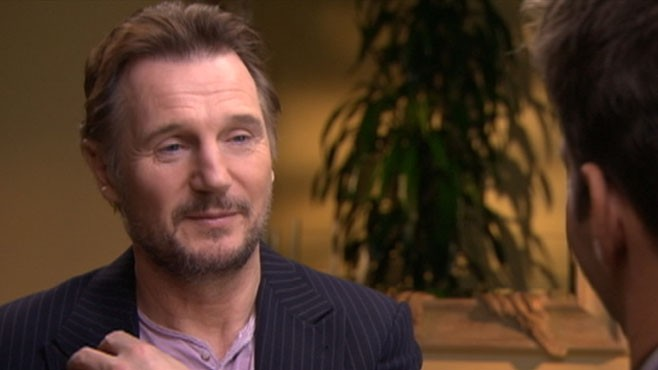 VIDEO: Liam Neeson on 'GMA'