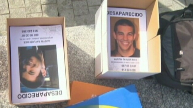 VIDEO: California college student vanishes after a night out in Madrid.