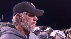 VIDEO: Brett Favre Coaches High School Football Team to Championship Game