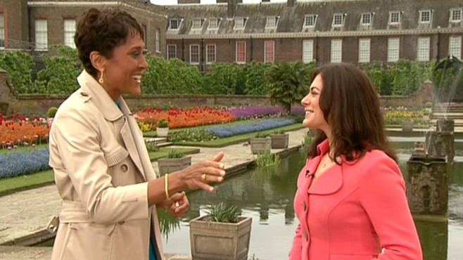 VIDEO: Katie Nicholl on the possibility of bad weather for William and Kates wedding.