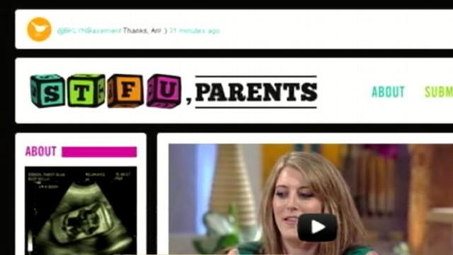 """VIDEO: Reena Ninan reviews """"STFU parents"""" blog aimed toward the social media mother."""