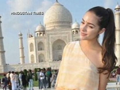 VIDEO: Indian Authorities lodged a formal complaint over an alleged unauthorized fashion shoot.