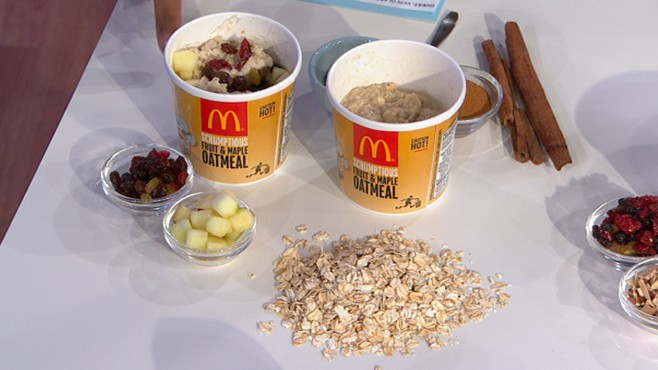 VIDEO: Keri Glassman reveals which hot cereals you can trust from fast food chains.