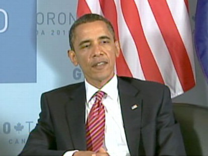 VIDEO: The president faces financial reform and Supreme Court confirmation hearings.