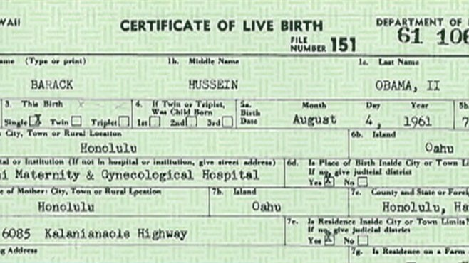 Donald Trump's History of Raising Birther Questions About ...