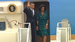 VIDEO: The president and first lady pitch Chicago to host the 2016 Olympic games.