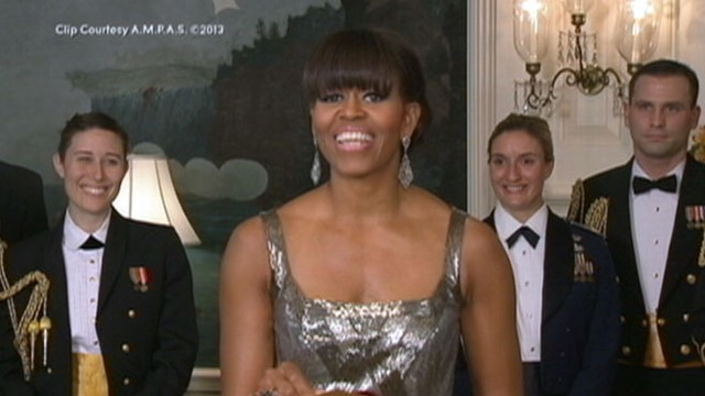 VIDEO: Michelle Obamas Oscar Moment