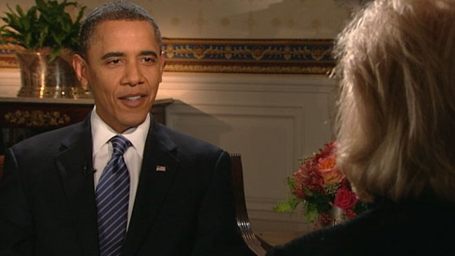 VIDEO: The president weighs in on Sarah Palin's 2012 run for the White House.