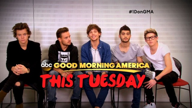 Now Playing: Countdown to 'One Direction' Live on 'GMA'