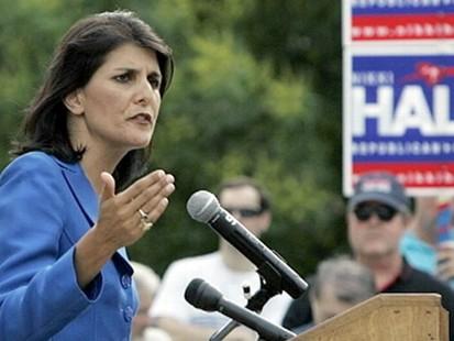 VIDEO: Rep. Nikki Haley denies extramarital affairs in race to replace Mark Sanford.