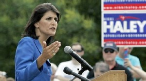 VIDEO: Rep. Nikki Haley denies extramarital affairs in race to replace Mark Sanford.