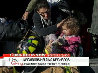 Watch: Overcoming Sandy: Beachfront Towns Burned, Flooded After Storm