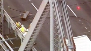 VIDEO: Bay Bridge Shut Down After Cable Snaps