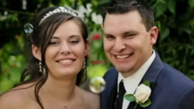 VIDEO: Jordan Linn Graham is accused of pushing her husband of eight days off a cliff.