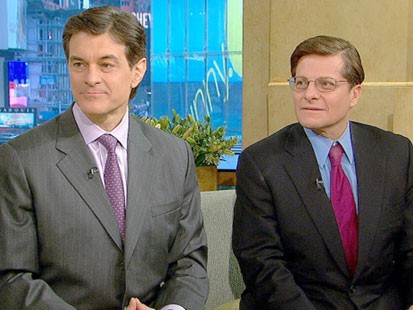 VIDEO: Drs. Mehemet Oz and Michael Roizen on GMA.