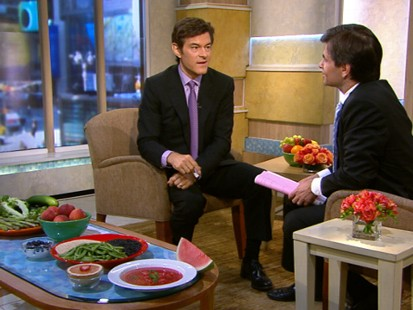 VIDEO: Dr. Oz explains how to effectively diet in the summer.