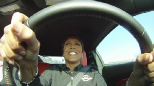 "VIDEO: The ""GMA"" anchor talks about her experience driving the pace car."