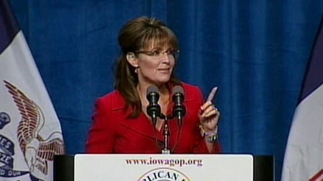 VIDEO: Sarah Palins speech at GOP fundraiser stirs speculation about 2012.