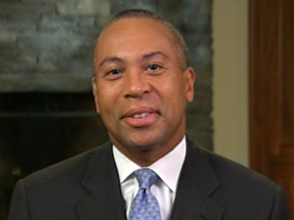 VIDEO: Mass. Gov. Deval Patrick discusses the push to name a temporary successor.
