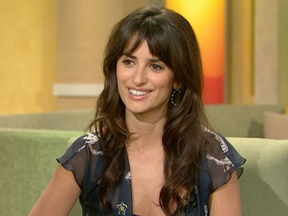 A picture of Penelope Cruz on GMA.