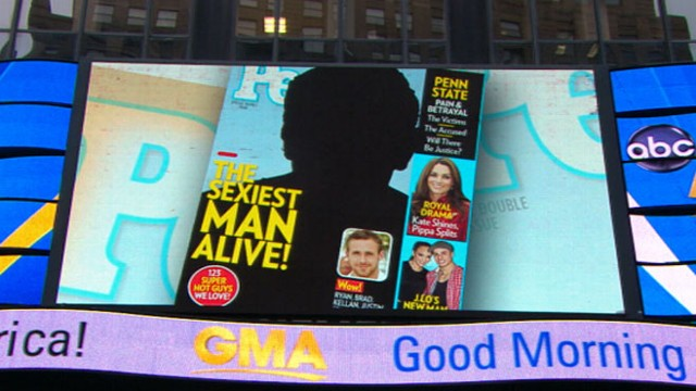 VIDEO: Senior Writer of People magazine Alexis Chiu unveils 2011s sexiest man.