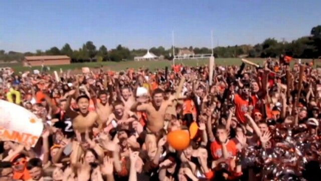 VIDEO: Lakewood Colorado High School used the contest to help bring some spirit back to their town.