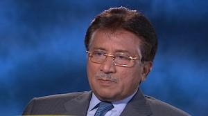 VIDEO: The former Pakistani president hopes theres few casualties in the war.