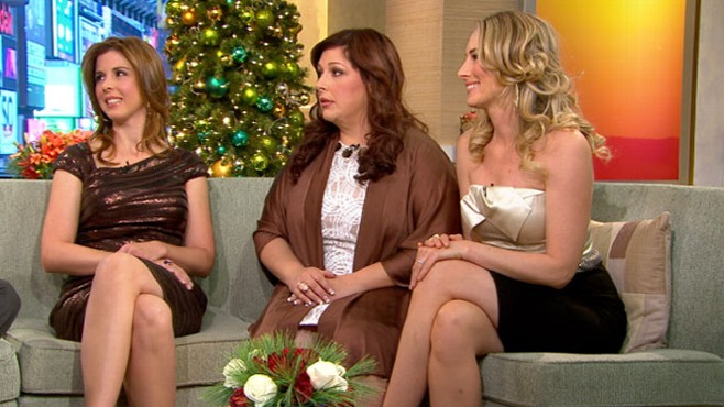 "VIDEO: ""Christmas in Harmony"" is the best-selling female groups first holiday album."