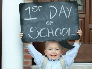 Watch: Elaborate First Day of School Photos