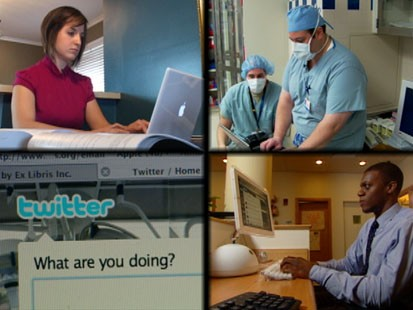 VIDEO: Doctors use Twitter during surgery to connect with med students.