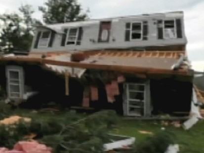 VIDEO: Tornado, Storms Cause Heavy Damage in Midwest