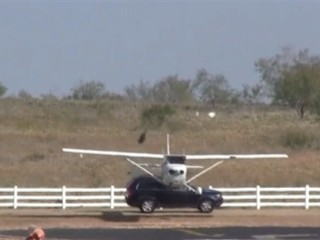 Watch: Plane Collides with SUV While Landing at Texas Airport