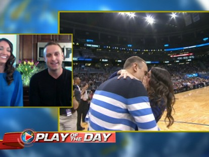 Orlando Magic Fan Surprises Girlfriend With Big Question