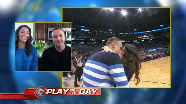 VIDEO: Basketball Game Marriage Proposal